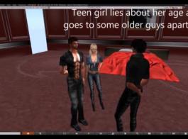 فتاة جامعية شقية تمارس الجنس بشكل عرضي بينما صديقها يخونها مع رجل آخر