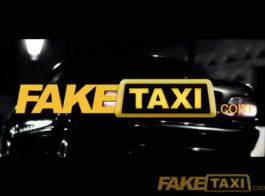 سائق سيارة أجرة شقراء لا يصدق استغل من قبل أحد الركاب