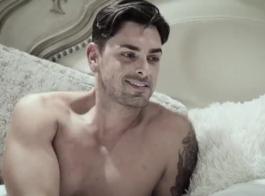 فاتنة روسية مذهلة بابتسامة جميلة ، جينا جيرسون تمارس الجنس مع رجلين