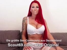 مراهق ألماني هواة يمارس الجنس مع شخص غريب أمام الكاميرا