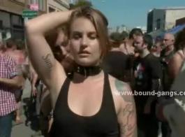 الرقيق الجنس الخشن والجلد من قبل العبد