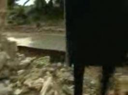 أنجيل ديل ريو يمارس الجنس الشرجي الخام ، مع اثنين من الرجال قرنية للغاية ، واحد تلو الآخر