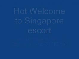 سنغافورة في سن المراهقة الأبنوس هو وحدها وحدها لممارسة الجنس مع جار أشقر