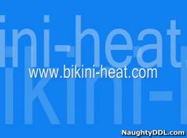 المراهقين بيكيني الساخنة تمتد خارج الهرات الحلاقة!