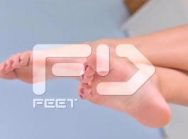 استمناء على الأقدام ..