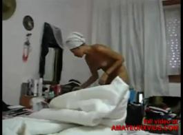 محلية الصنع الثلاثي الهواة جبهة تحرير مورو الإسلامية يظهر كيفية مص الديك في المنزل
