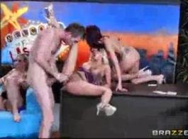 براندي الحب الحصول على مارس الجنس من قبل مدلك.